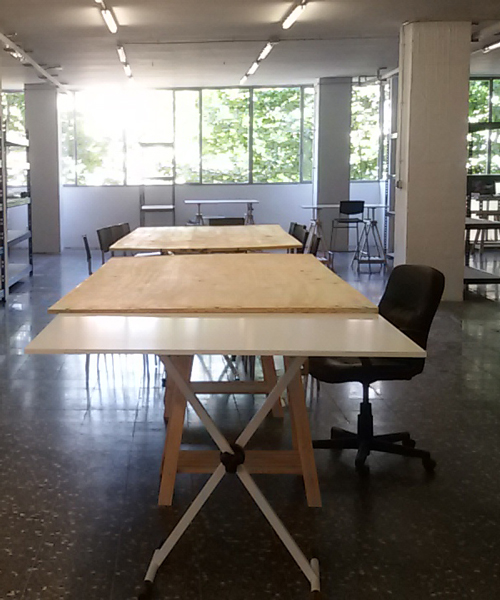 Co-working spaces for ceramics artists in Barcelona