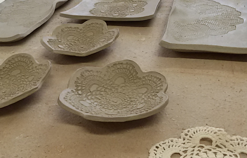 Hand building continous ceramics course