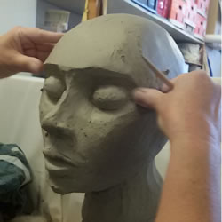 3-Month Intensive ceramics course in Barcelona - modelling